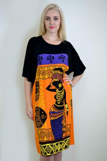 Платье из вискозы с лайкрой Арт-2285 Р/Р 46-54