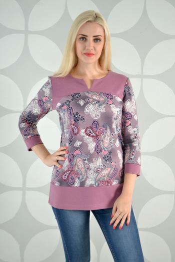 Блуза из трикотажного полотна Арт-2336 Р/Р 54-60