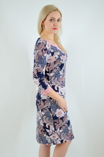 Платье из вискозы с лайкрой Арт-2437 Р/Р 46-54