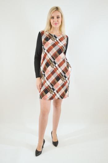 Платье из трикотажного полотна Арт-2491 Р/Р 46-52