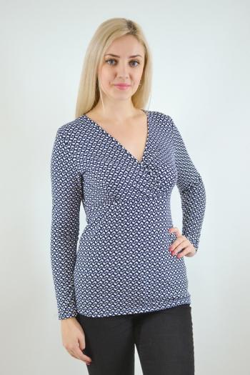 Блуза из трикотажного  полотна Арт-2493  Размерный ряд 48-54
