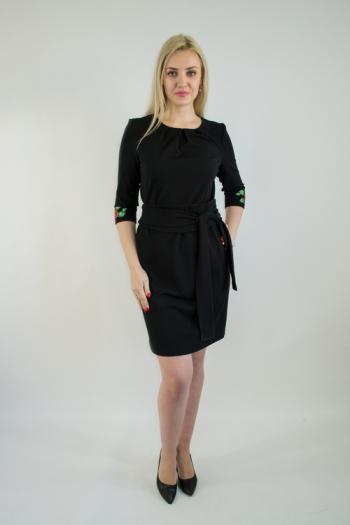 Платье из трикотажного полотна Арт-2540 Р/Р 46-54
