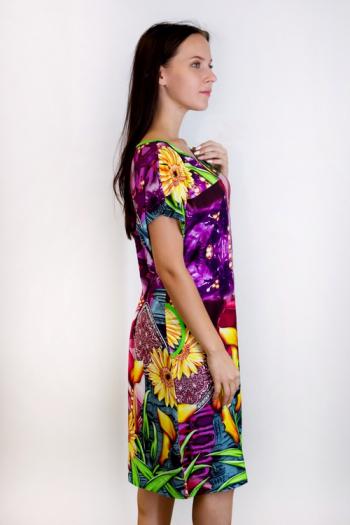 Платье из вискозы Арт-2855 Р/Р 52-58