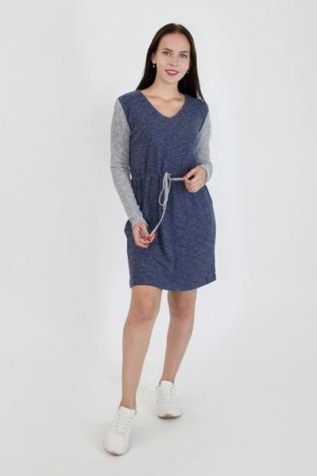 Платье из трикотажной ткани Арт-2940 Р/Р 46-52