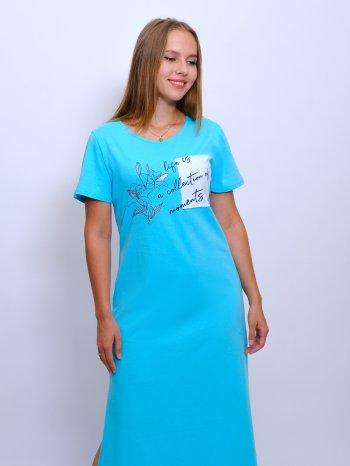 Платье из кулирки Арт-7160  Размерный ряд 42-48