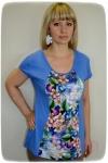 Блуза из вискозы Арт-1573 Р/Р 52-58