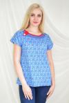Блуза из кулирки Арт-2096 Р/Р 50-56