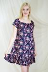 Платье из штапеля Арт-2117 Р/Р 44-46, 48-50