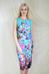 Платье из вискозы Арт-2132 Р/Р 44-50