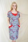 Платье из вискозы с лайкрой Арт-2155 Р/Р 54-60