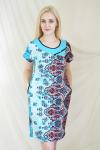 Платье из кулирного полотна Арт-2159 Р/Р 52-58