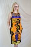 Платье из вискозы с лайкрой Арт-2178 Р/Р 46-54
