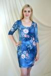 Платье из трикотажного полотна Арт-2206 Р/Р 44-52