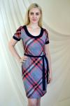 Платье из трикотажного полотна Арт-2218 Р/Р 46-52