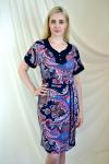 Платье из трикотажного полотна Арт-2219 Р/Р 52-58