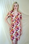 Платье из трикотажного полотна Арт-2221 Р/Р 50-56