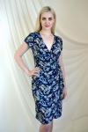 Платье из вискозы с лайкрой Арт-2222 Р/Р 46-52