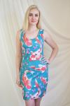 Платье из фулл лайкры Арт-2235 Р/Р 42-50