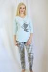 Пижама из 100 % хлопка Арт-2244 Р/Р 42-50