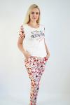 Пижама из комбинированных полотен Арт-2279 Р/Р 46-52