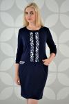 Платье из трикотажного полотна Арт-2324 Р/Р 52-58