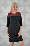 Платье из трикотажного полотна Арт-2326 Р/Р 48-54
