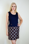 Платье из трикотажного полотна Арт-2358 Р/Р 46-50