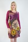 Платье из вискозы с лайкрой Арт-2390 Р/Р 48-54