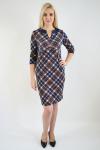 Платье из трикотажного полотна Арт-2406 Р/Р 48-52