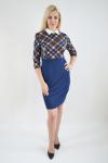Платье из трикотажного полотна Арт-2408 Р/Р 44-50