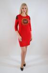Платье из трикотажного полотна Арт-2457 Р/Р 42-46