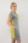 Платье из футера Арт-2592 Р/Р 44-50