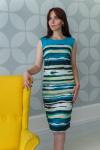 Платье из трикотажного полотна Арт-2751 Р/Р 48-56