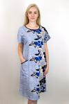 Платье из кулирки Арт-2758 Р/Р 54-60
