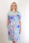 Платье из вискозы Арт-2775 Р/Р 46-52