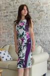 Платье из трикотажного полотна Арт-2801 Р/Р 46-52