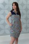 Платье из вискозы Арт-2804 Р/Р 46-52