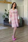 Платье из флиса Арт-2888 Р/Р 46-52
