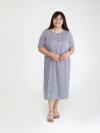 Платье из штапеля Арт-3305 Р/Р 48-54