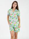 Пижама из кулирки Арт-3815  размерный ряд 40-46