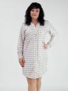 Платье из софт флиса Арт-3822 Р/Р 48-54