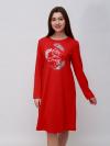 Платье интерлок Арт-4317 Р/Р 48-54