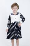 Детский халатик из велюра Арт-5001 Р/Р 116-134
