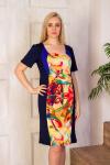 Платье из вискозы ЭМ-0002 Р/Р определяется