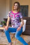 Блуза из вискозы ЭМ-004 Р/Р определяется