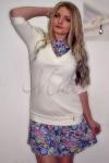 Платье из интерлока и вискозы Miata.Арт-898